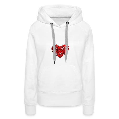 Hjertebarn - Dame Premium hættetrøje