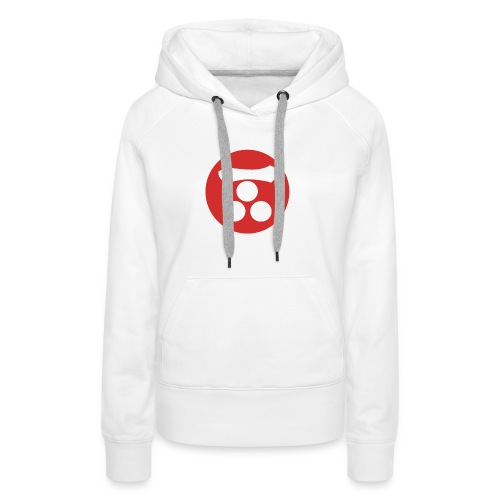 Mori Mon Japanese samurai clan in red - Women's Premium Hoodie