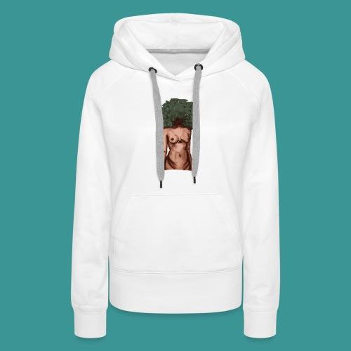 womb woman - Vrouwen Premium hoodie