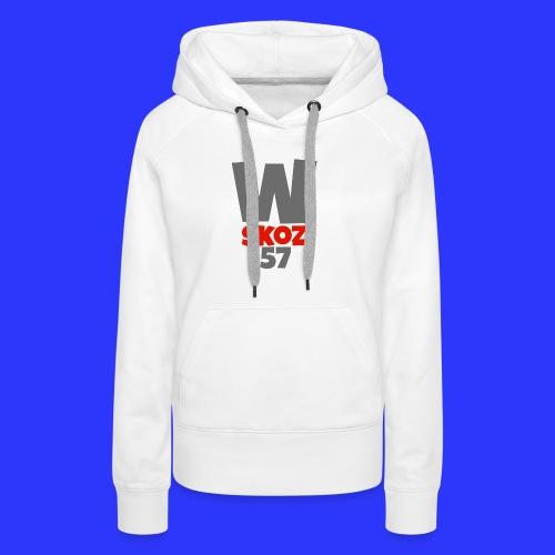 Sac Watiskoz Officiel - Sweat-shirt à capuche Premium pour femmes