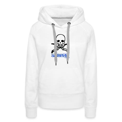 Skull rollercourse - Sweat-shirt à capuche Premium pour femmes