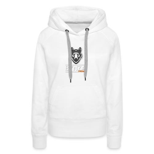 Casquette bynzai - Sweat-shirt à capuche Premium pour femmes