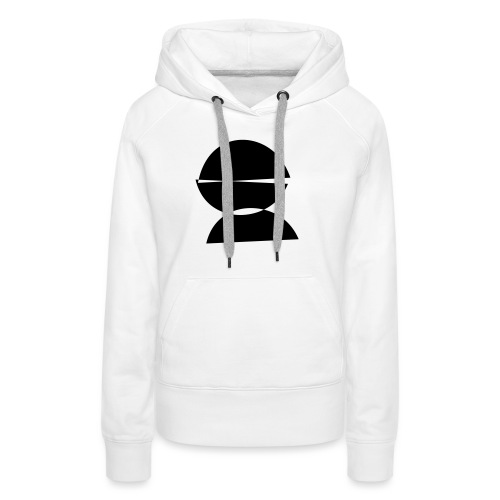refugee rights abstract - Frauen Premium Hoodie