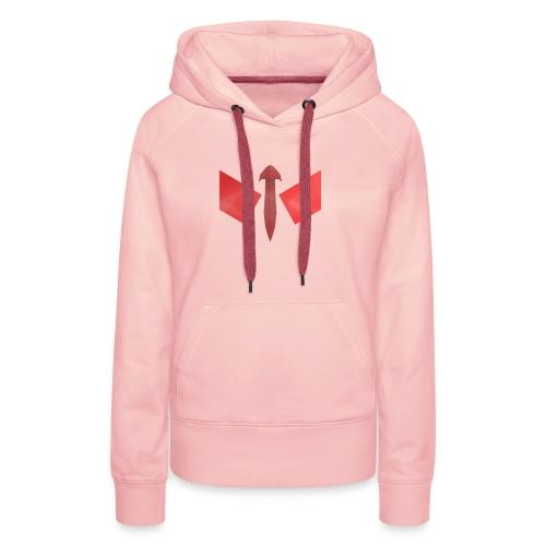 butterfly-png - Vrouwen Premium hoodie
