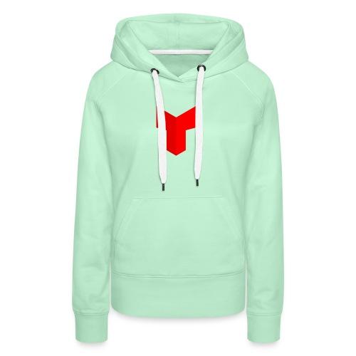 redcross-png - Vrouwen Premium hoodie