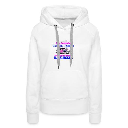 drugmand_tamburini_logo-png - Sweat-shirt à capuche Premium pour femmes