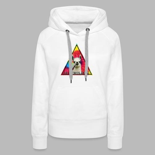 Illumilama logo T-shirt - Women's Premium Hoodie