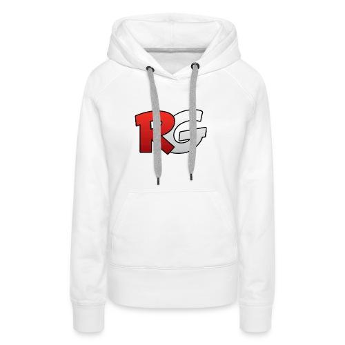 jongens shirt met een (v half) - Vrouwen Premium hoodie