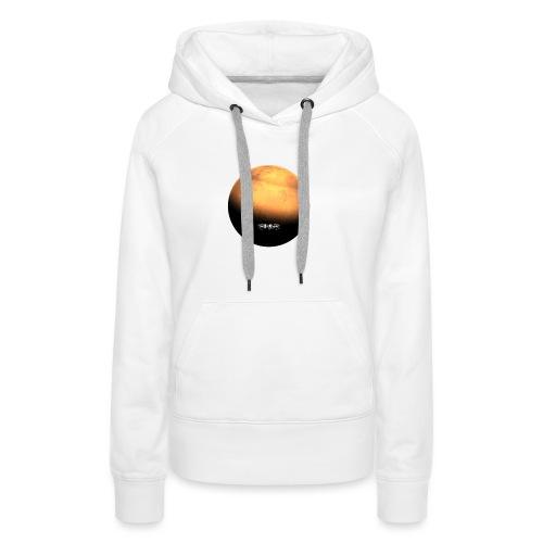 MARS Planet - Sweat-shirt à capuche Premium pour femmes