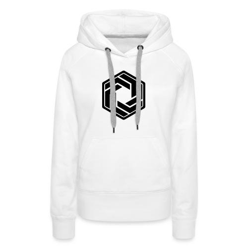 BW Logo White Shirt - Women's Premium Hoodie