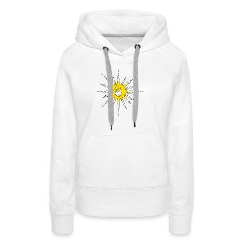 Sonne - Frauen Premium Hoodie
