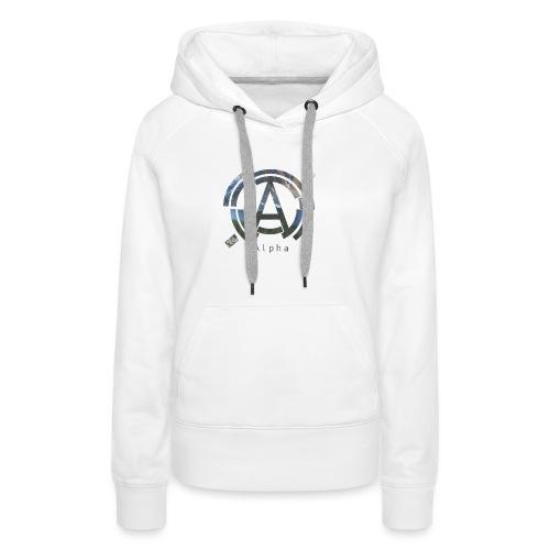 AlphaOfficial Logo T-Shirt - Women's Premium Hoodie
