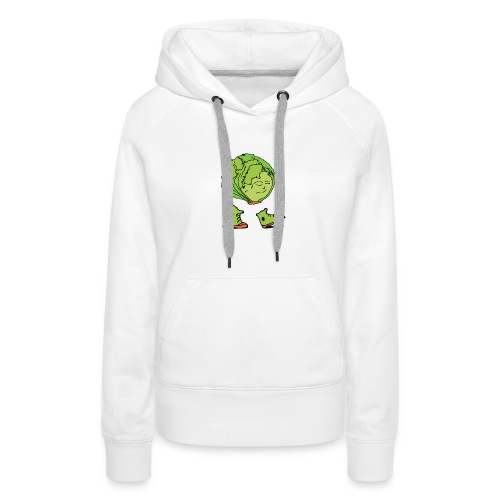 Lettuce Move On - Women's Premium Hoodie