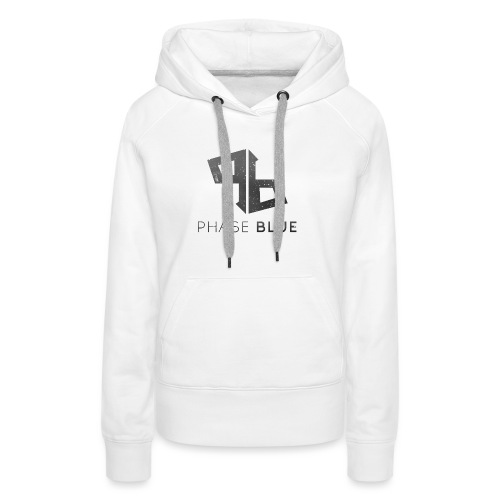 Phase Blue Baseball Shirt - Women's Premium Hoodie
