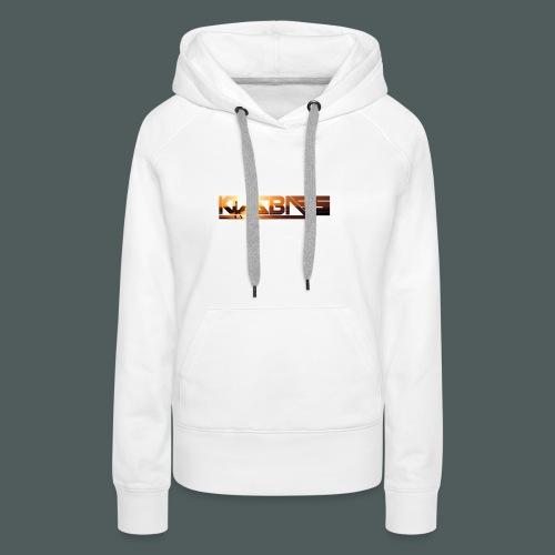 Camiseta KizzBass (Diseño Verano) - Sudadera con capucha premium para mujer