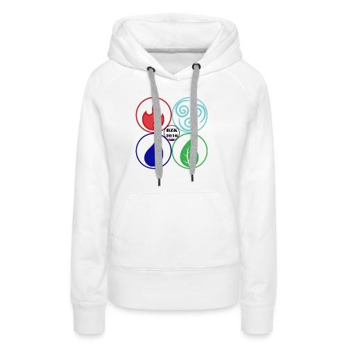 STUITERELEMENTEN2 - Vrouwen Premium hoodie
