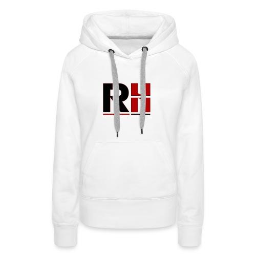 RH HOMME NOIR - Sweat-shirt à capuche Premium pour femmes