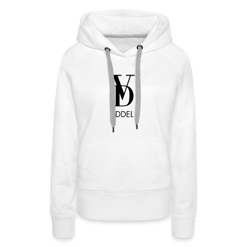 VOLL DER EDDEL LOGO - Frauen Premium Hoodie