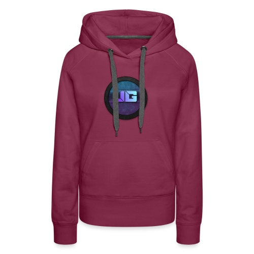 shirt met logo - Vrouwen Premium hoodie