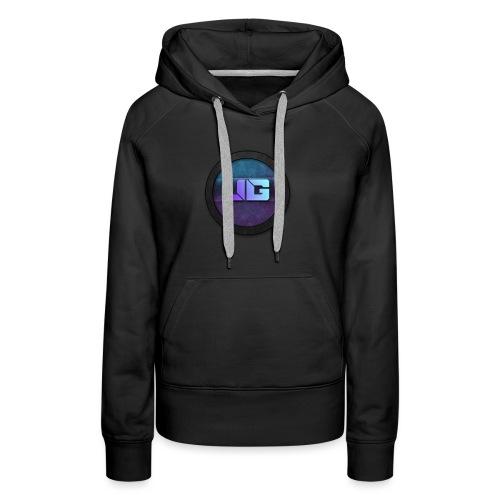 Vrouwen shirt met logo - Vrouwen Premium hoodie