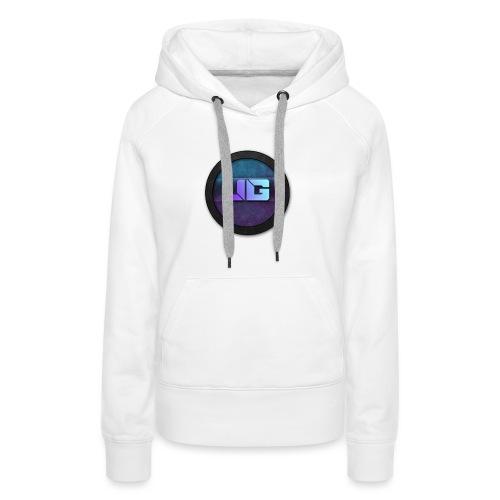 Telefoon hoesje 5/5S met logo - Vrouwen Premium hoodie