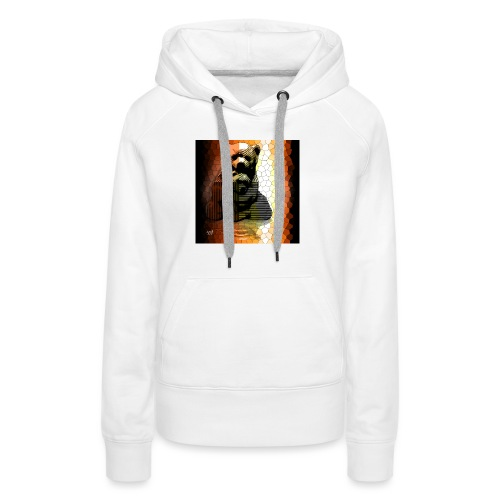 Ourse et Ourson - Sweat-shirt à capuche Premium pour femmes