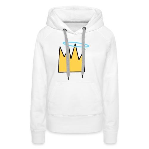 Crown Halo baby's - Vrouwen Premium hoodie