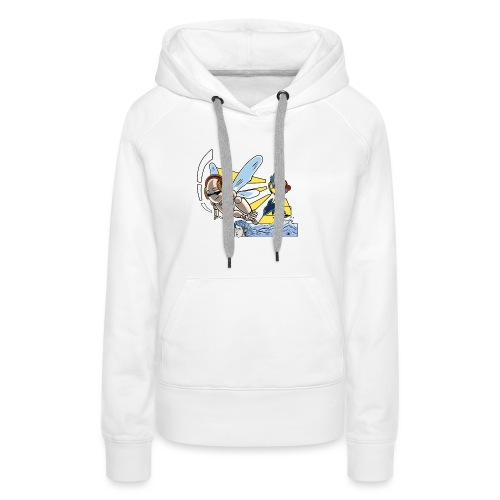 Sunshine buzz - Vrouwen Premium hoodie