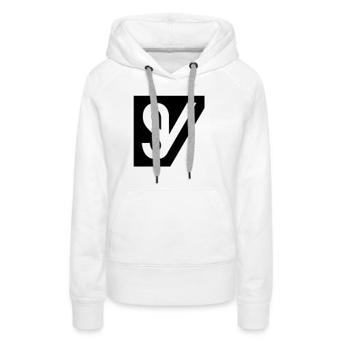 watermerk zwart png - Vrouwen Premium hoodie