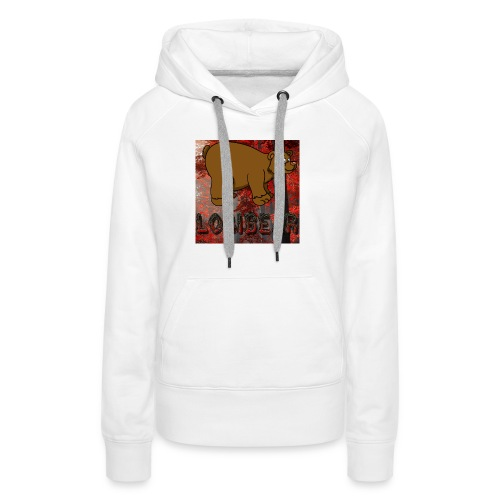 Male Logi Bear Shirt - Women's Premium Hoodie