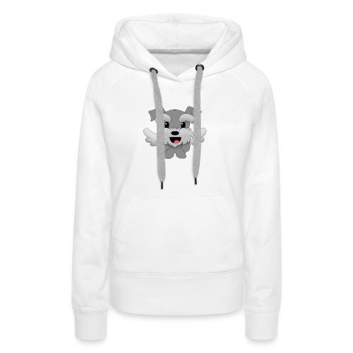 Doggy - Sudadera con capucha premium para mujer