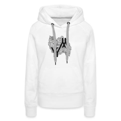 YYYY - Sweat-shirt à capuche Premium pour femmes