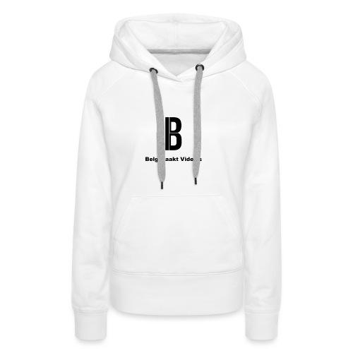 Belg Maakt Video's t-shirt - Vrouwen Premium hoodie
