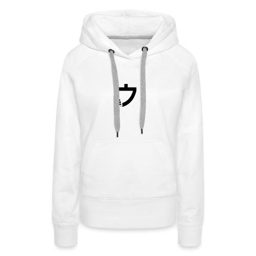 Caelus White hoodie - Women's Premium Hoodie