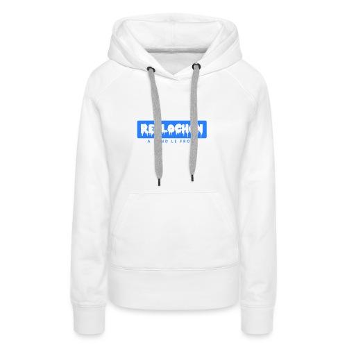 Reblochon - Sweat-shirt à capuche Premium pour femmes
