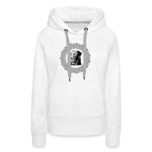T-shirt le 97 - Sweat-shirt à capuche Premium pour femmes