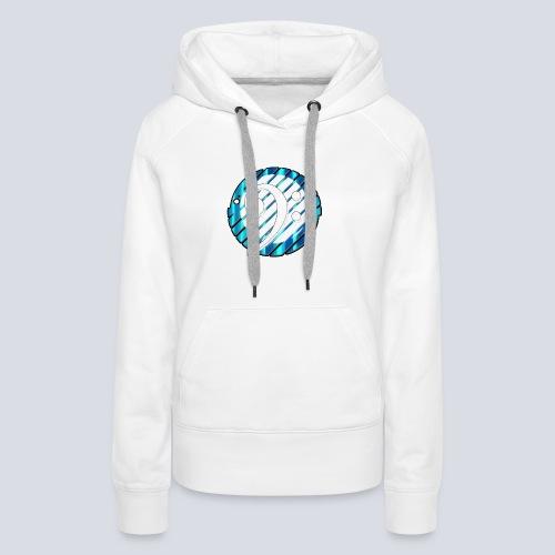 BassClef blue/white - Women's Premium Hoodie