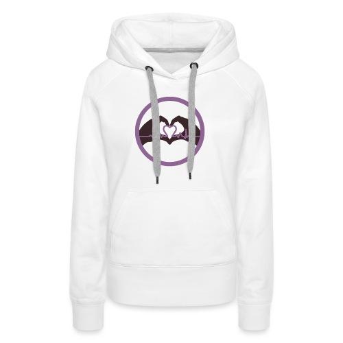 Logo ASC - Sweat-shirt à capuche Premium pour femmes