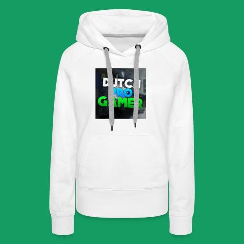 dpg logo groot png - Vrouwen Premium hoodie