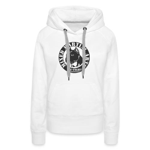 MOTIF MMA PIT BULL - Sweat-shirt à capuche Premium pour femmes