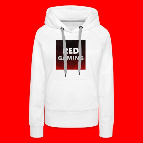 RED DESIGN - Women's Premium Hoodie