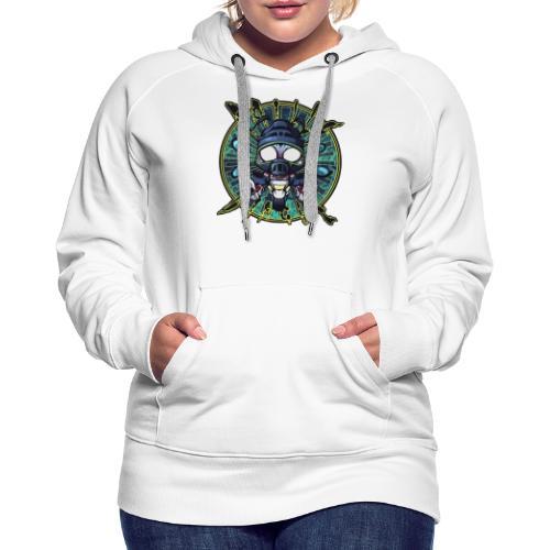 RailleDingue (400ppp - 40 - Sweat-shirt à capuche Premium pour femmes