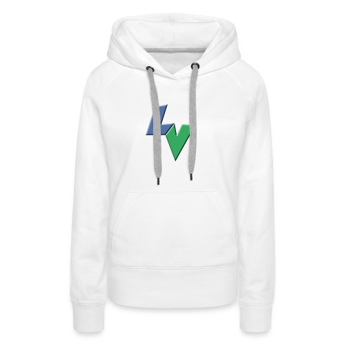 LeoVeo LV Logo - Women's Premium Hoodie