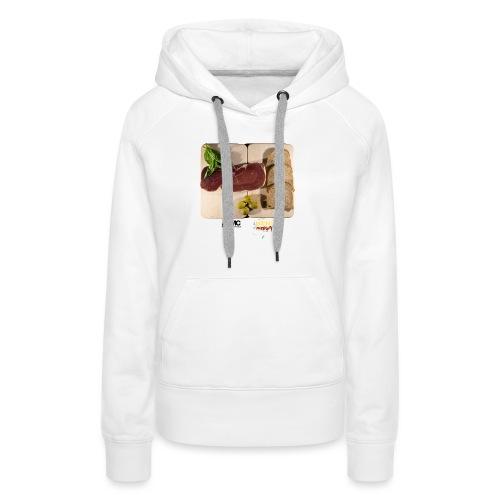 CRUDO Jersey - Frauen Premium Hoodie
