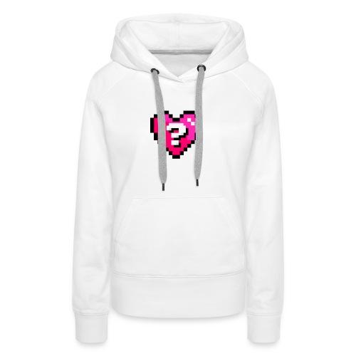 AQuoiValentin - Sweat-shirt à capuche Premium pour femmes