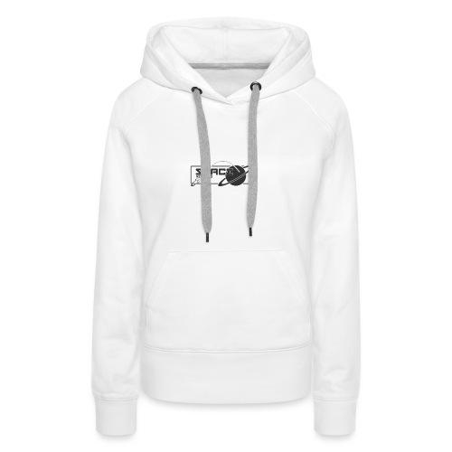 Space Records Merchandise - Sweat-shirt à capuche Premium pour femmes