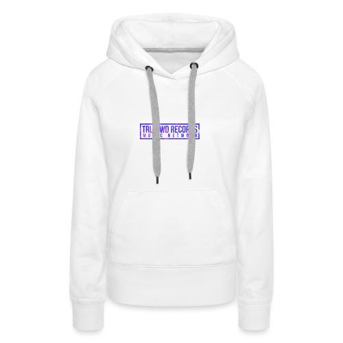 TRLLYWD Records   Purple - Frauen Premium Hoodie