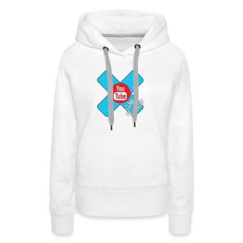 clinetdéjantés - Sweat-shirt à capuche Premium pour femmes