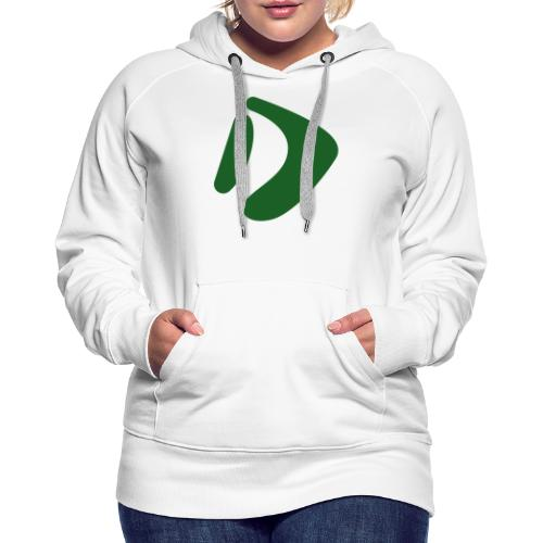 Logo D Green DomesSport - Frauen Premium Hoodie
