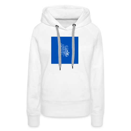 Windy Wings Blue - Women's Premium Hoodie